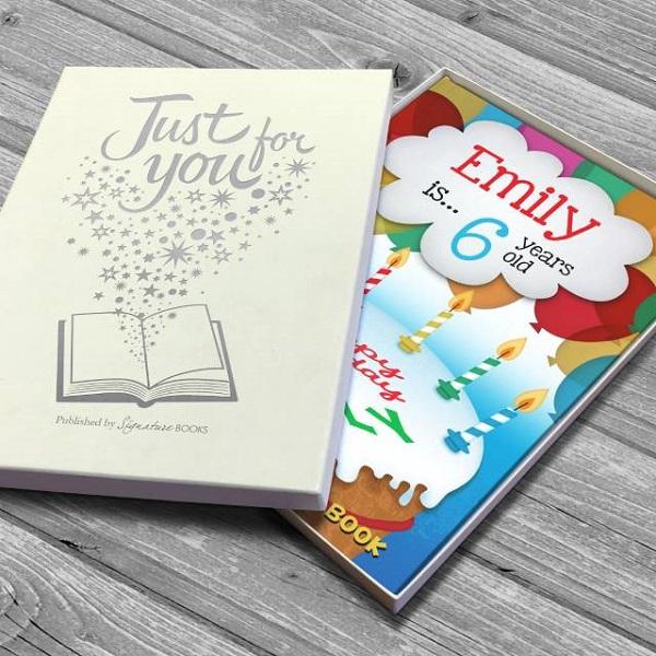 Personalised Birthday Counting Softback Book
