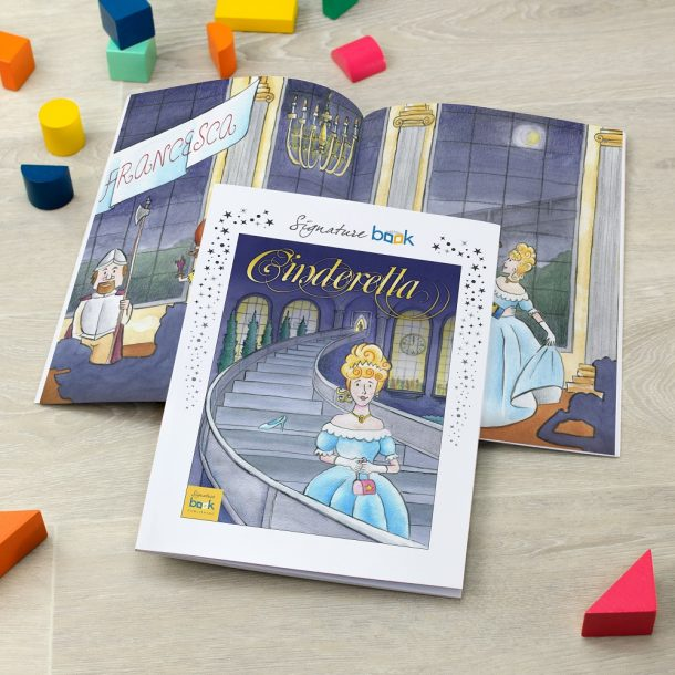 Personalised Cinderella Softback Book