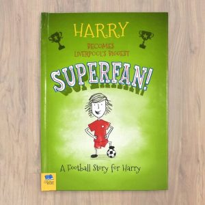 Personalised Football Superfan Softback Book