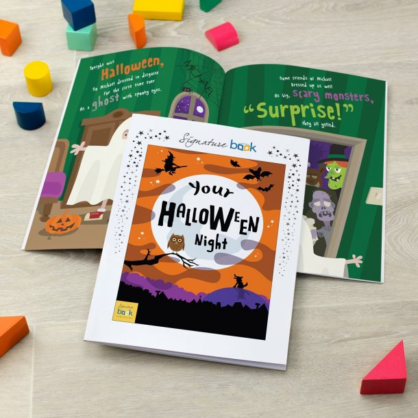 Personalised Halloween Softback Book