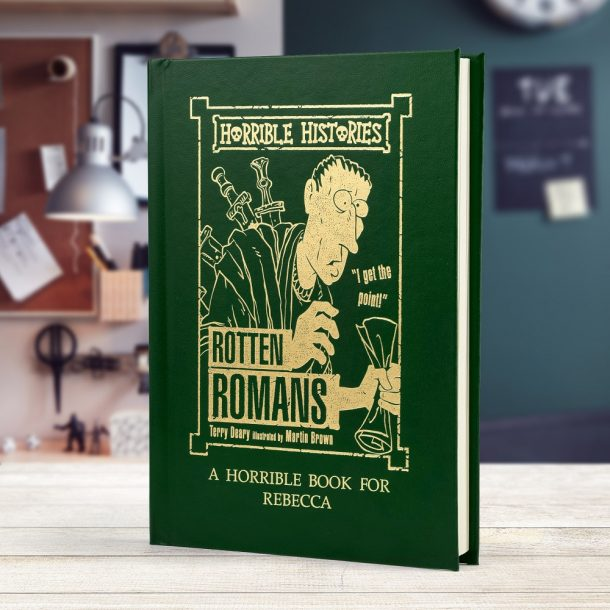 Personalised Horrible Histories Rotten Romans Book