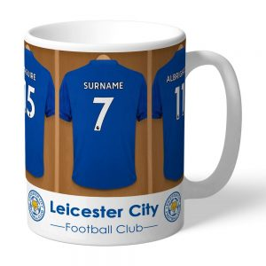 Personalised Leicester City FC Dressing Room Mug
