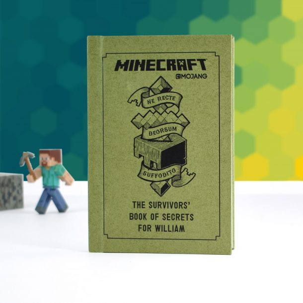 Personalised Minecraft Survivor's Book Of Secrets