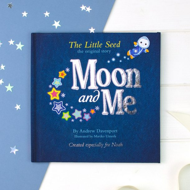 Personalised Moon & Me The Little Seed Book