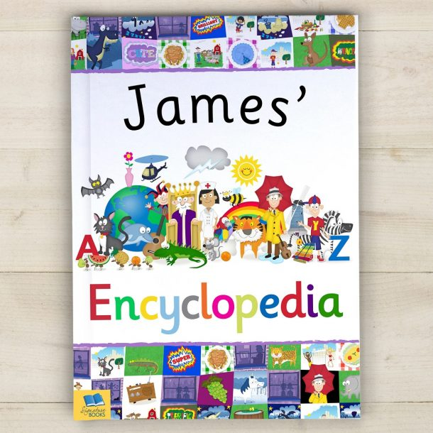 Personalised My Encyclopedia Hardback Book
