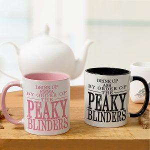 Personalised Peaky Blinders Mug Set
