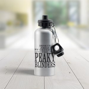 Personalised Peaky Blinders Water Bottle