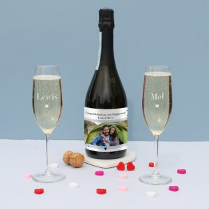 Personalised Photo Upload Prosecco Gift Set