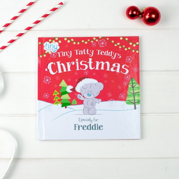 Personalised Tiny Tatty Teddy's Christmas Softback Book