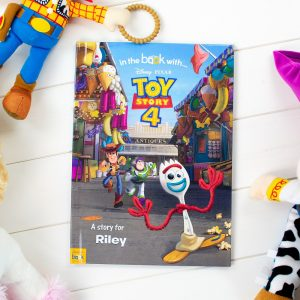 Personalised Toy Story 4 Softback Book