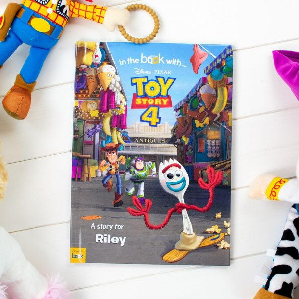 Personalised Toy Story 4 Softback Book