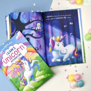Personalised Unicorn Softback Book