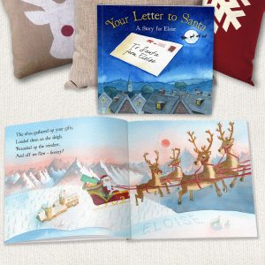 Personalised Your Letter To Santa Softback Book