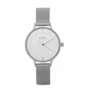 Skagen Ladies Anita Stainless Steel Mesh Watch