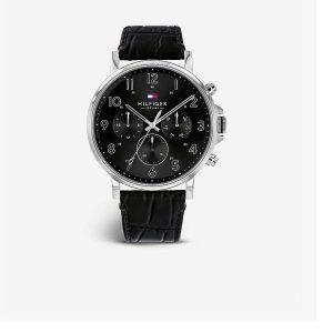 Tommy Hilfiger Daniel Leather Watch