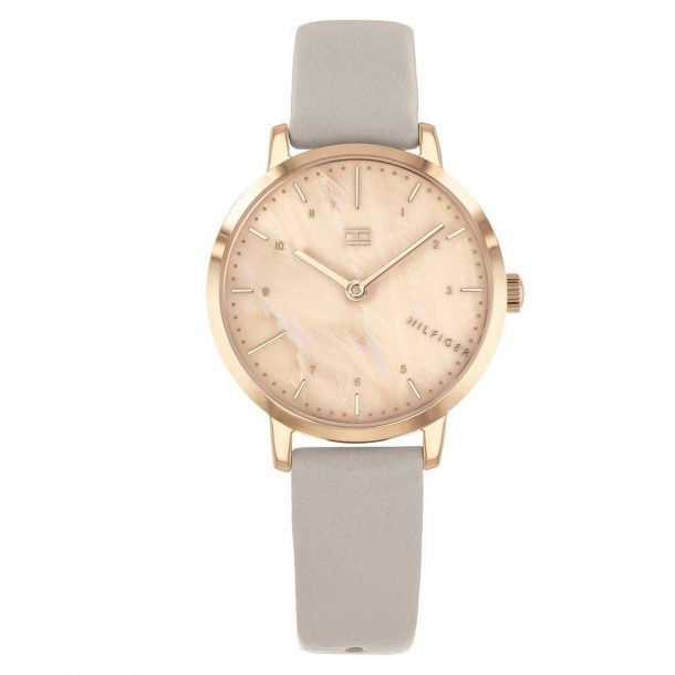 Tommy Hilfiger Rose Gold Plated Ladies Watch