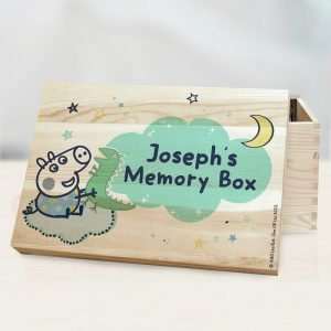 Personalised George Pig Memory Box