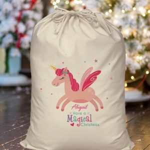 Personalised Magical Christmas Sack