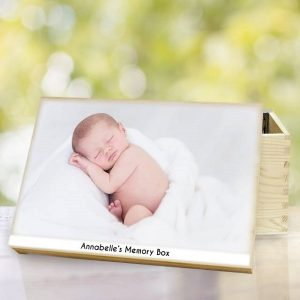 Personalised Photo Upload Memory Box