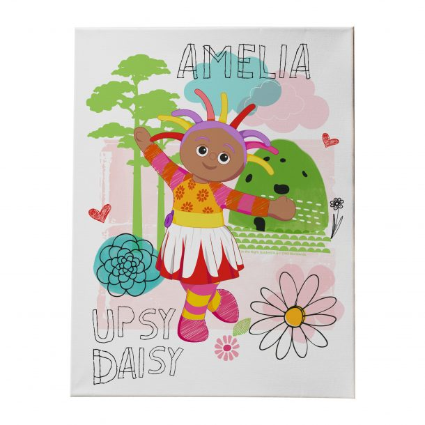 Upsy Daisy Canvas