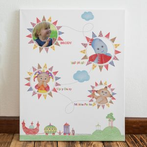 In The Night Garden Colouring Book Photo Canvas