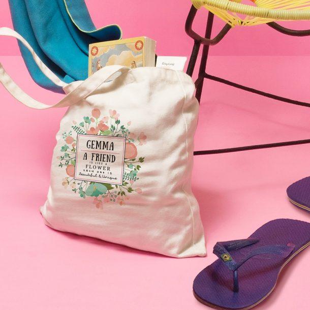 Personalised Beautiful & Unique Tote Bag