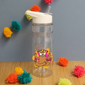 Personalised Groovy Sloth Waisted Water Bottle