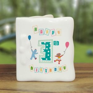 Personalised In The Night Garden Birthday Message Card