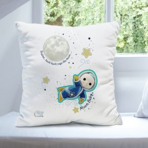 Personalised Moon and Me Moon Baby Cushion