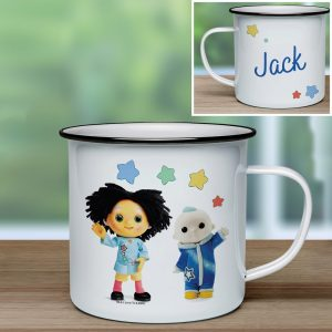 Personalised Moon and Me Pepi Nana & Moon Baby Enamel Mug