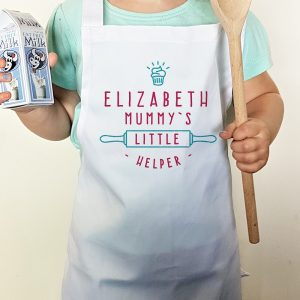Personalised Mummy's Little Helper Cupcake Child's Apron