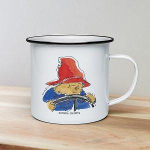 Personalised Paddington Bear Enamel Mug