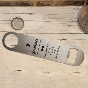 Personalised Top Hat Bar Blade