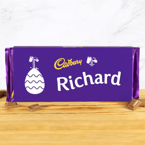 Personalised Easter Cadbury Dairy Milk 360g