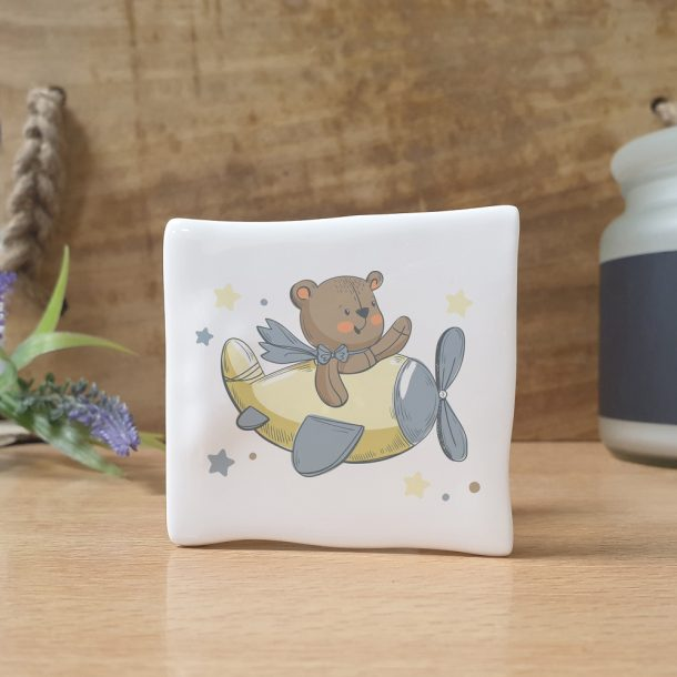 Personalised Little Bear Message Card