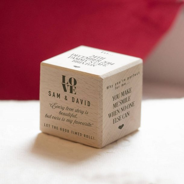 Personalised Love Story Dice