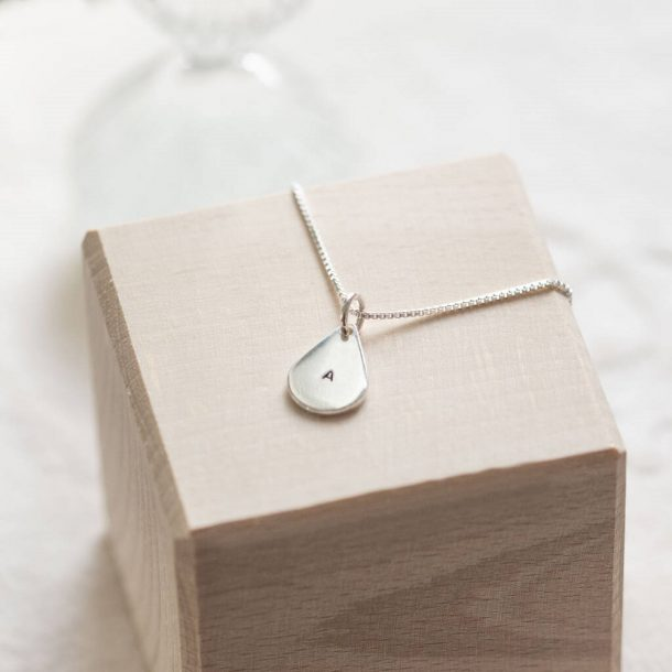 Personalised Teardrop Necklace