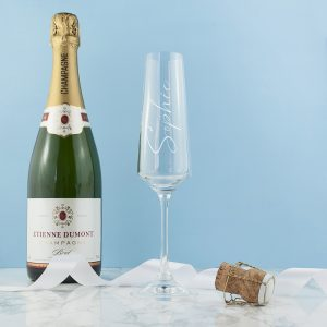 Personalised Elegance Champagne Flute