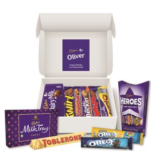 Personalised Cadbury Chocolate Family Hamper