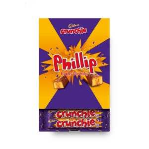 Personalised Cadbury Crunchie Favourites Box