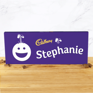 Personalised Cadbury Dairy Milk 850g Smiley Face