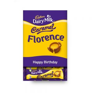 Personalised Cadbury Dairy Milk Caramel Favourites Box