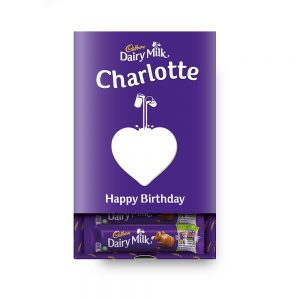 Personalised Cadbury Dairy Milk Favourites Box