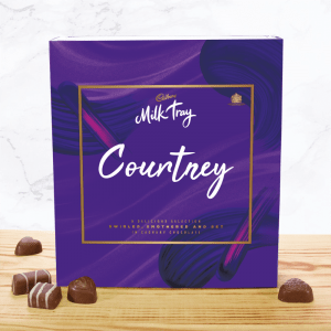 Personalised Cadbury Milk Tray 360g