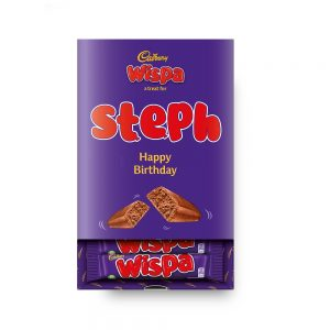 Personalised Cadbury Wispa Favourites Box