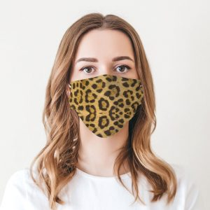 Classic Leopard Printed Face Mask