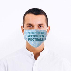 Football Fan Printed Face Mask