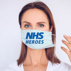 NHS Heroes Printed Face Mask