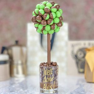 Personalised Aero Peppermint Bubble Sweet Tree