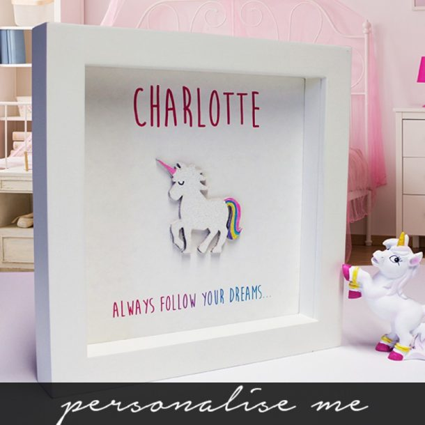 Personalised Always Follow Your Dreams Framed Print